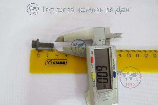 Болт М6х1х16 пластины вентилятора