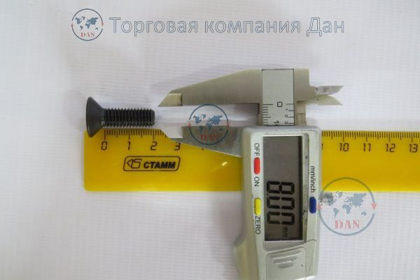 Болт М8х1,25х25