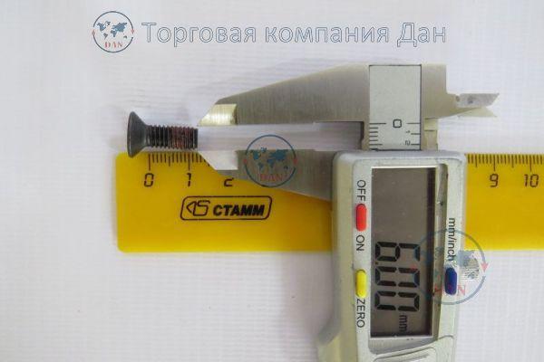 Болт М6х1х12 насос масляный