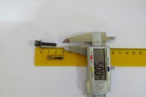 Болт М5х0,8х20 датчика, фиксатора